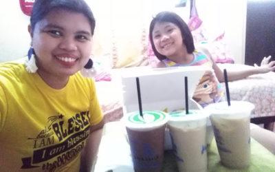 Our version of Mukbang Milktea and Nachos