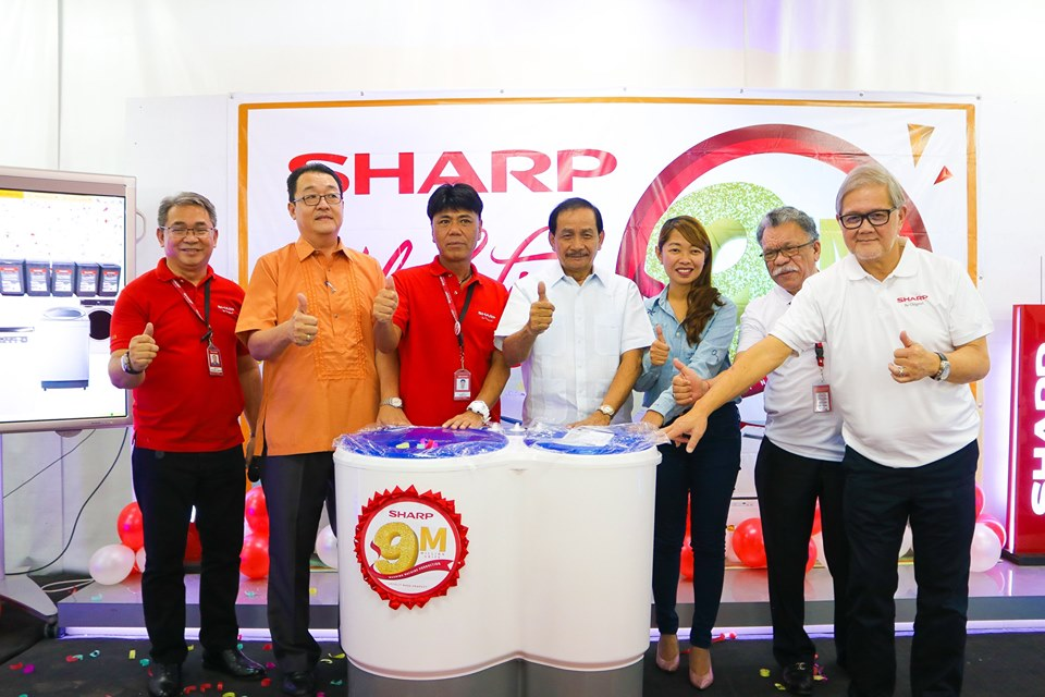 Sharp PH celebrates its 9 Millionth Washing Machine Production