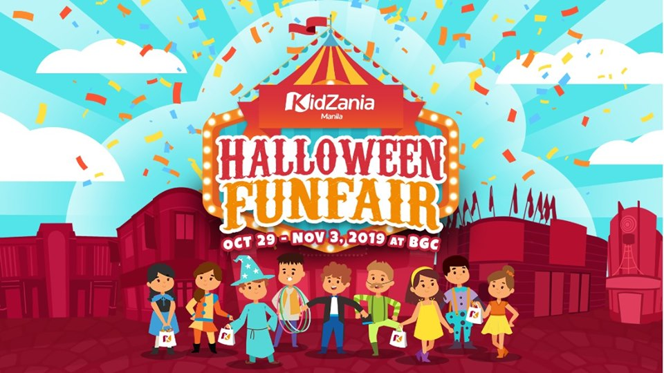 "A ""Grand Halloween FunFair"" at Kidzania Manila"