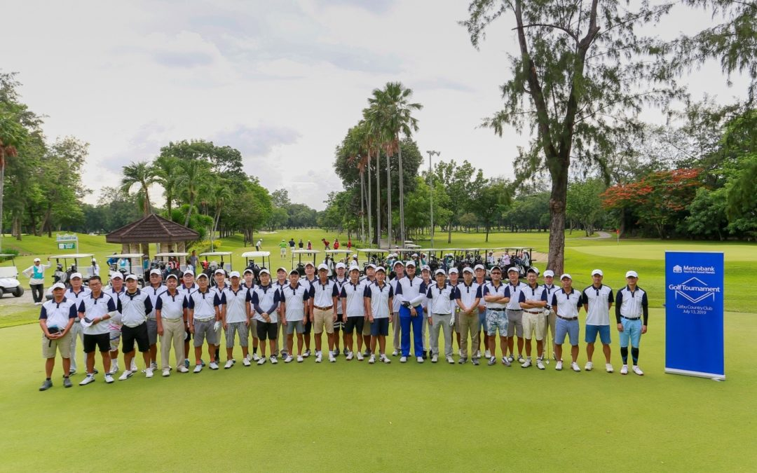 Metrobank holds the 6th Annual Metrobank Golf Tournament for Cebu clients