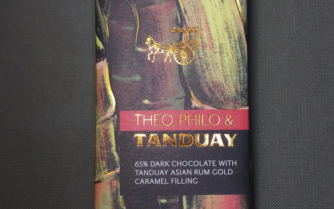 Mouth-Watering Chocolate Infused with the Rich Flavor of Tanduay Asian Rum Gold