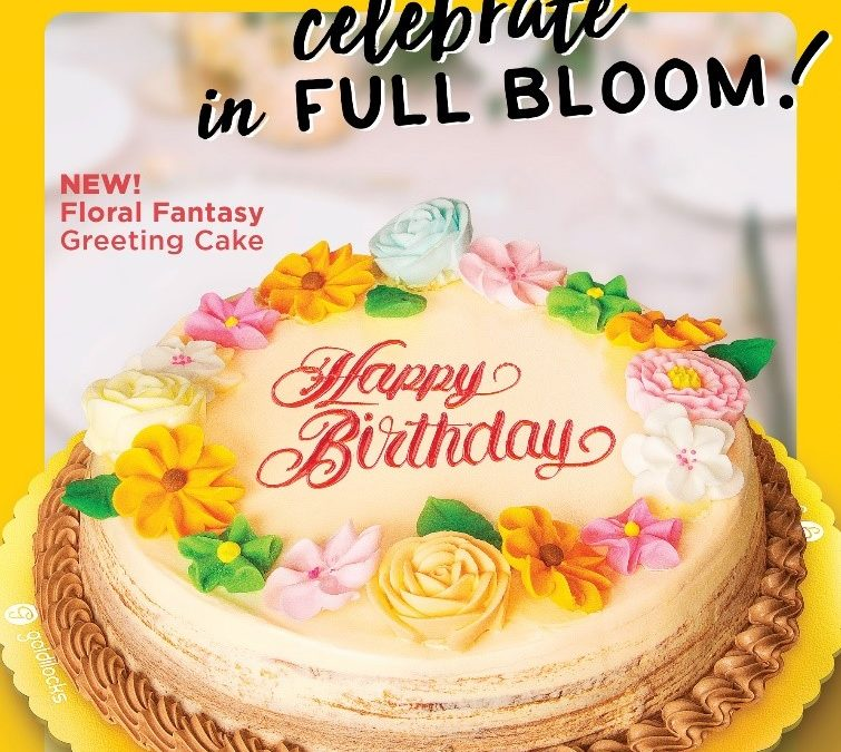 Introducing Goldilocks' Floral Fantasy Cake!