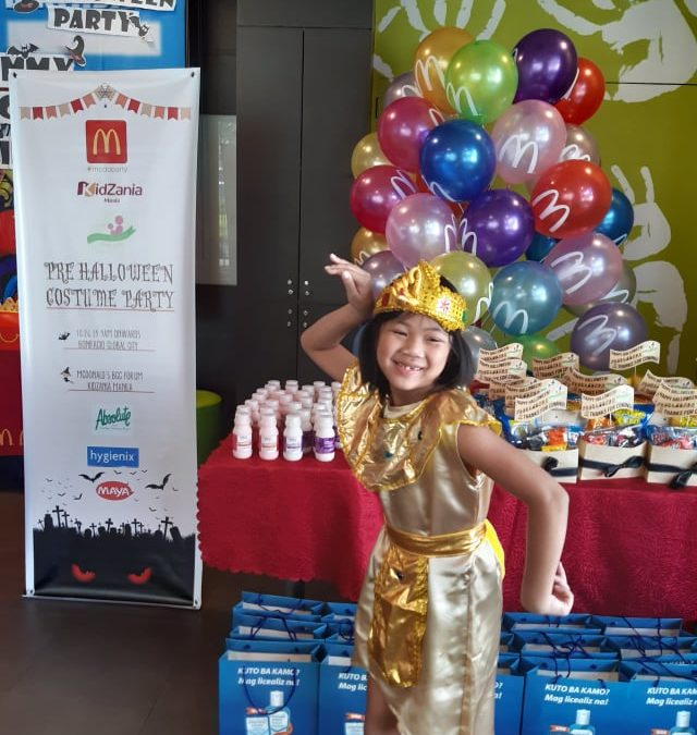 Mommy Bloggers Phils. Halloween Party 2019 at Mcdonald's