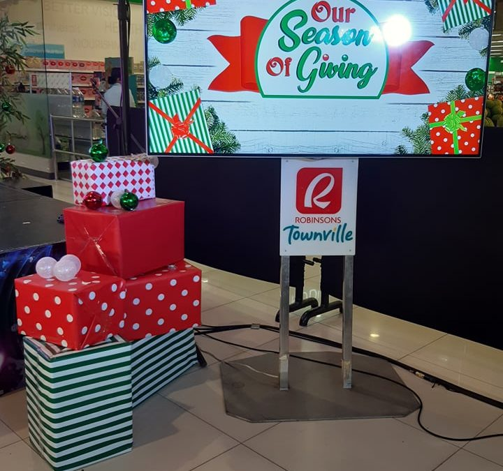 It's the Season of Giving at Robinsons Townville!