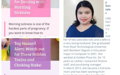 My two articles at Wyeth Nutrition Parenteam Website