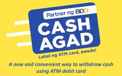 CASH AGAD: naka-antabay para matugunan ang banking needs ng bawat Pilipino