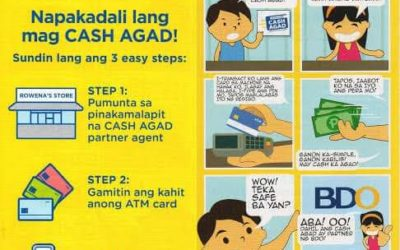 BDO helps the communities recover economically through the Cash Agad network
