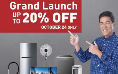 Hanabishi Launches Lazada Flagship Store and  Offers Discounts on Its Appliances on October 24