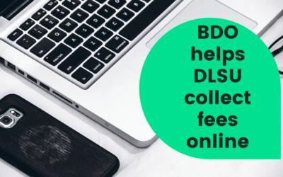BDO helps DLSU collect fees online