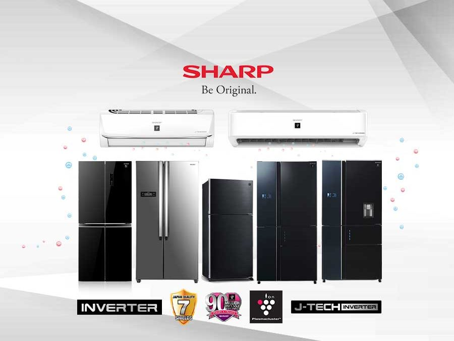 Experience Cool and Comfort with Sharp J-Tech Inverter Refrigerator and Air Conditioner