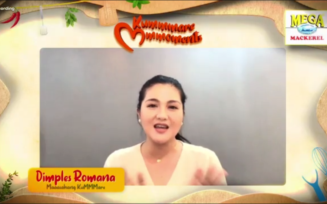 Dimples Romana leads a special Mega Mother's Day activities with fellow KuMMMares and Mega Mackerel