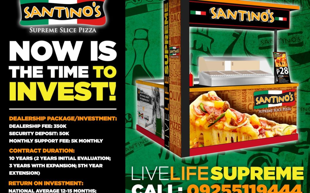 Santino's Supreme Slice and Pizza Pedrico's at the Ufranchise Discovery day