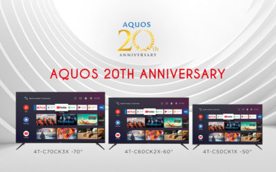 Sharp AQUOS – Two Decades of Excellence, Quality, and Innovation