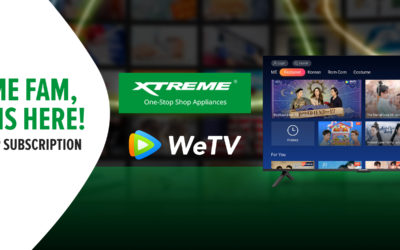 WeTV Partners with XTREME Appliances to Bring Asian Premium Content to Every Filipino Household