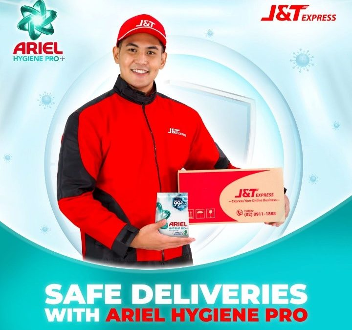 1000 Delivery Riders Receive #WelcomeHomeSafe Experience from New Ariel Hygiene Pro