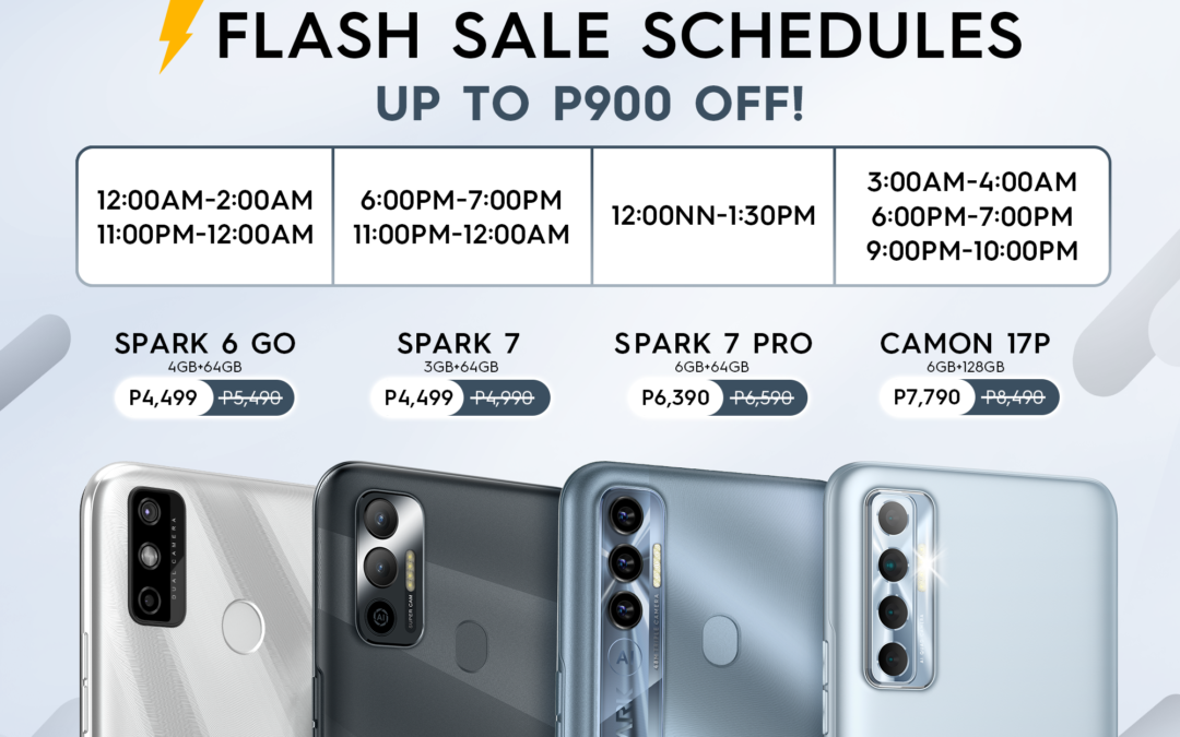 Major Price Drop on the Camon 17P Smartphone Coming This 10.10